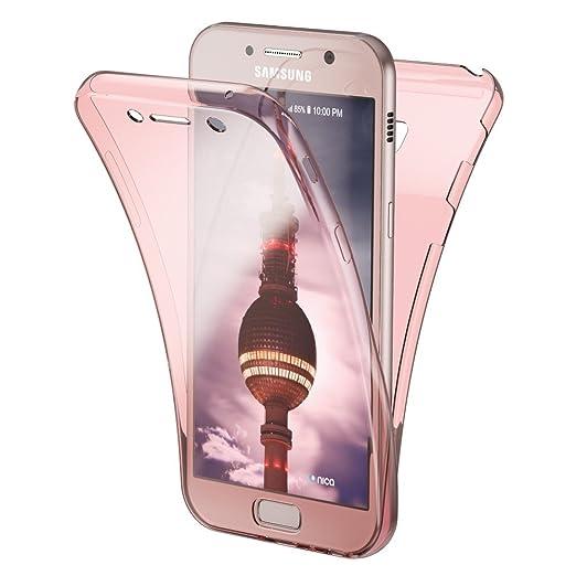 4 opinioni per Samsung Galaxy A5 2017 360 Gradi Cover Totale Custodia Protezione di NICA,