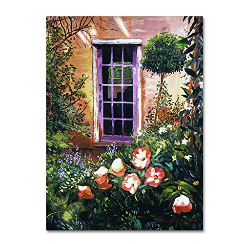 Tuscany Villa Garden by David Lloyd Glover, 18x24-Inch Canvas Wall Art (David Lloyd Glover Garden)
