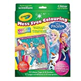 Crayola Color Wonder Glitter Kit, Frozen, Mess Free Colouring, Washable, No Mess, for Girls and Boys, Gift for Boys and Girls, Kids, Ages 3, 4, 5,6 and Up, Holiday Gifting,. Stocking Stuffers, Arts and Crafts