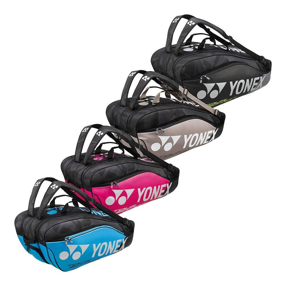 ヨネックス – Pro 9パックテニスバッグ – ( bag9829 ) B078TQG71J ブラック