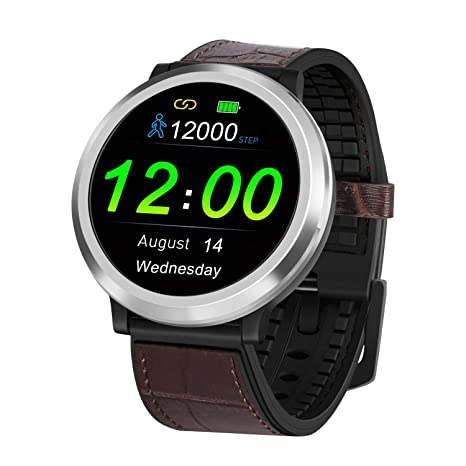 Bluetooth Smart Watch with Heart Rate Blood Pressure Sports Bracelet, 20 Days Standby Time, Sleep Water Monitoring, Easy to Connect, Compatible with ...