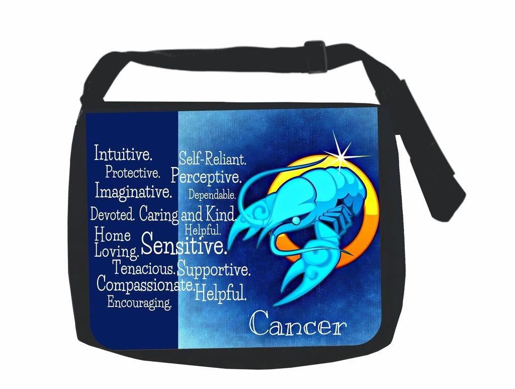 Zodiac Cancer Traits Jacks Outlet Inc School Messenger Bag and Pencil Case Set
