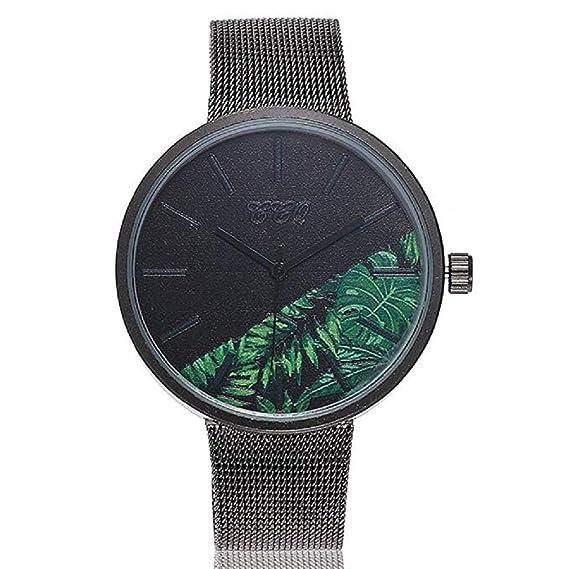 Promoción!Reloj de Cuarzo para Mujer Flor de Moda Banda de ...