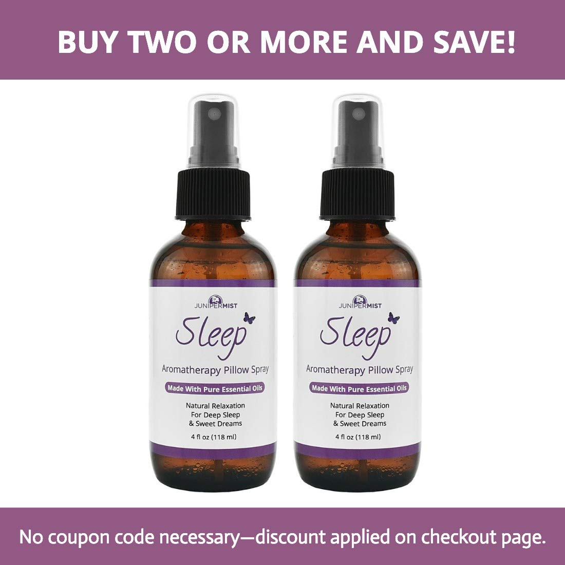 Sleep Spray Pillow Mist With Lavender (4oz) – All Natural Sleep Aid -  Relaxing Blend Of Essential Oils Calm Body & Mind – Great Stress Relief For  Kids