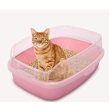 DAN Bandeja higiénica Cubierta para Gatos, Pink: Amazon.es: Deportes y aire libre
