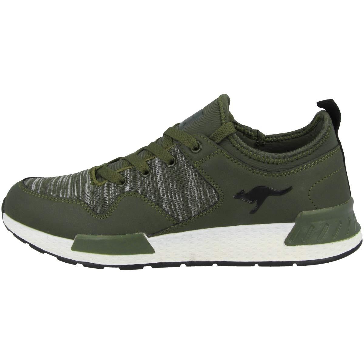 KangaROOS Damen W-750 Sneaker schwarz) Grün (Khaki/Jet schwarz) Sneaker 19f2ab