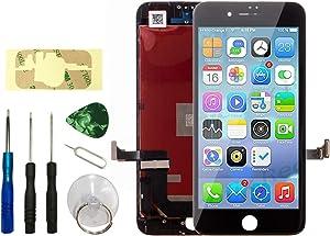 """Master Screen for iPhone 7 Plus Screen Replacement 5.5"""" LCD Display iPhone 7 Plus Replacement Touch Screen Digitizer Include Repair Tools Kit (Black)"""