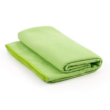 Amazon.com : Liobaba Microfiber Yoga Towel, Extra Thick Yoga ...