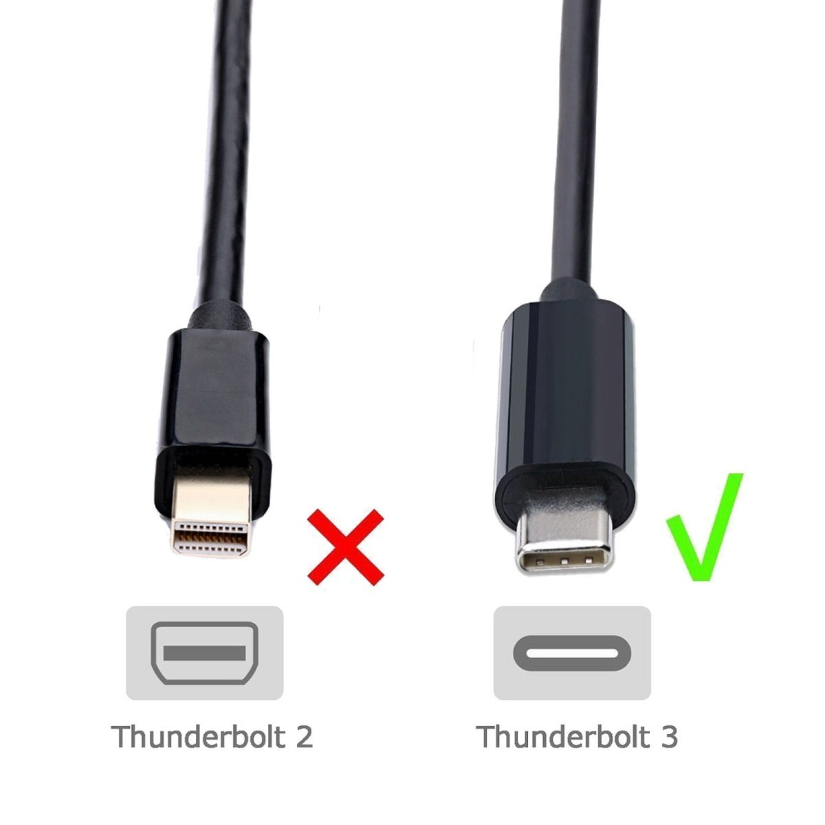 YCD USB 3.1 Type-C to HDMI Adapter, Thunderbolt 3 to HDMI 4K UHD Adapter Supports 4K/60Hz, for The 2016 MacBook Pro, MacBook 12'' (2015), ChromeBook Pixel, Dell XPS 15 and more by ONTEN (Image #5)