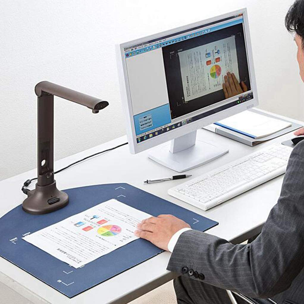DINGYI Digital Portable Document Camera Scanner, Professional 8 MegaPixel Resolution,Design for Library, School and Company.Perfect for Bound Documents & Books, Smart OCR for Windows by DINGYI (Image #3)