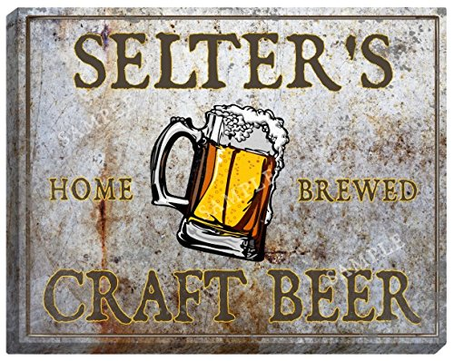 selters-craft-beer-stretched-canvas-sign