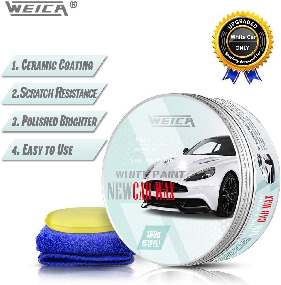 Weica Car Wax for White Cars
