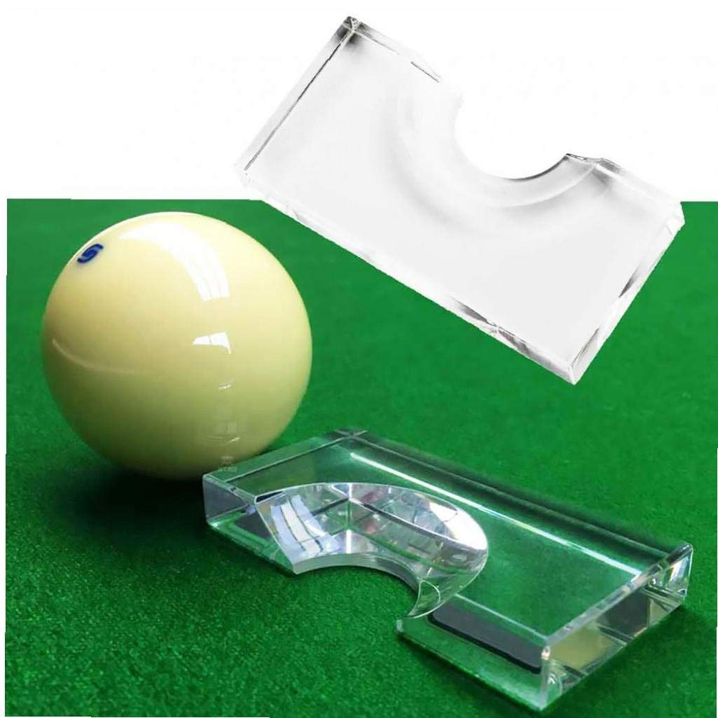Acryl Snooker Billard Position Marker Pool Biiliard Kugel Position Marker Cue Ball Marker Farbe Transparent