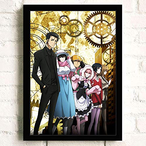 Steins;Gate Japanese Anime Poster Prints Wall Art Decor Unframed,32x22 16x12 Inches,Multiple Patterns Available