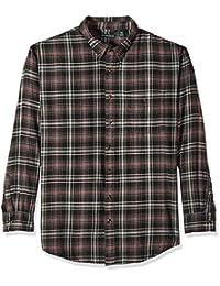 G.H. Bass & Co. mens big-tall Big and Tall Fireside Flannel Plaid Long Sleeve Shirt