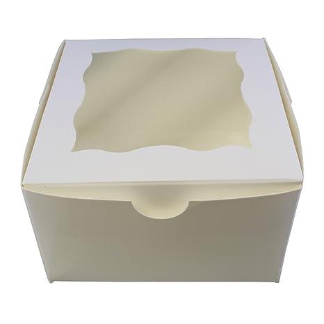 Amazon.com: Cajas especiales para panadería T con ventana ...