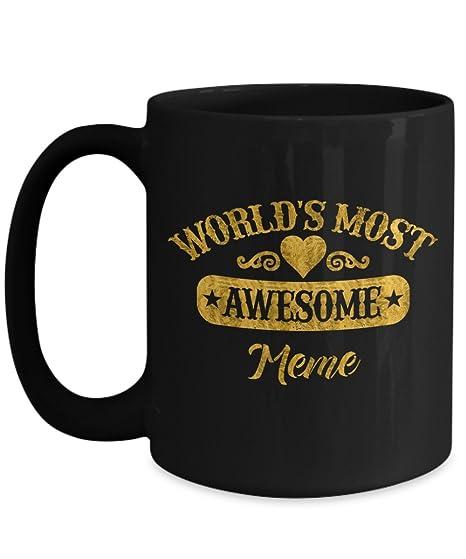 Amazon.com: Regalo Día de la Madre para Meme regalo de ...
