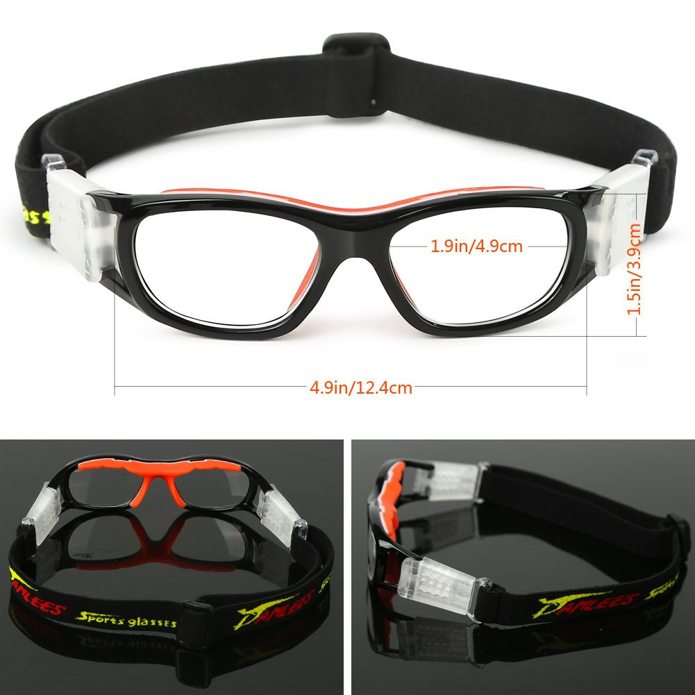 eb95a74d494 Panlees Goggles Sports Glasses Adjustable Elastic Wrap Eyewear for Soccer  Basketball Tennis Lover (Orange(5-15 Child))  Amazon.ca  Sports   Outdoors