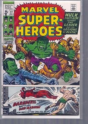 MARVEL SUPER-HEROES # 27, 4.5 VG +: Amazon.com: Books