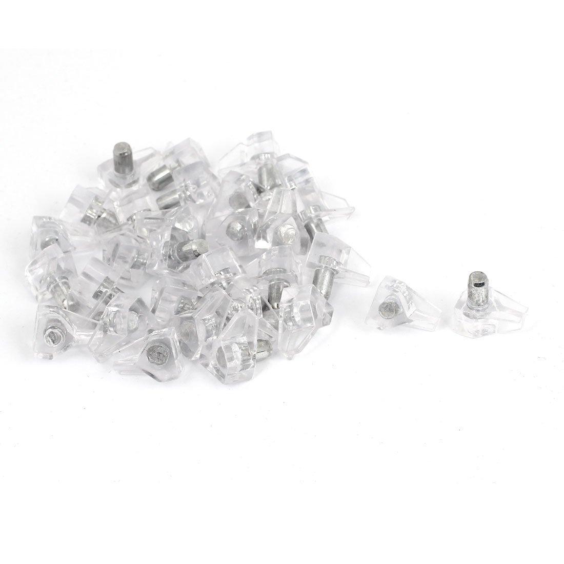 sourcingmap® 30 Stück Silber Ton Möbel Küchenschrank Schrank Regal ...