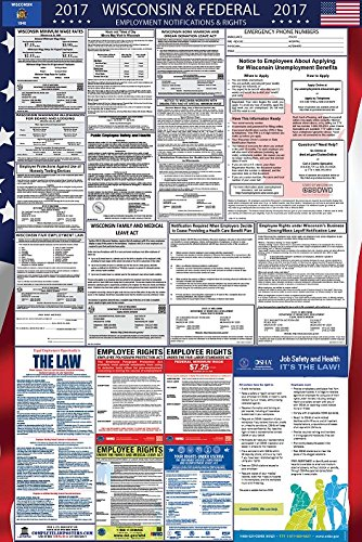 2017 Wisconsin and Federal Labor Law Poster Updated