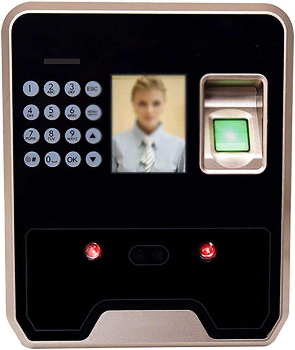 Máquina De Asistencia Tipo De Contraseña Face Swiping Reconocimiento Facial Huella Digital All-in-One Máquina De Asistencia Empleado Máquina De Tarjeta Punch Adecuado para Hoteles De Fábrica