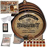 Personalized Outlaw Kit (XO Brandy) ''MADE BY'' American Oak Barrel - Design 107: Barrel Aged Cognac - 2018 Barrel Aged Series (5 Liter)