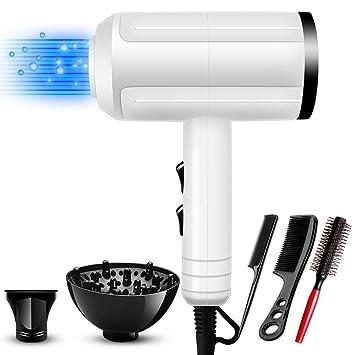 Secador de cabello profesional de 800 vatios - Secador profesional Blow Salon Grade para cabello rizado