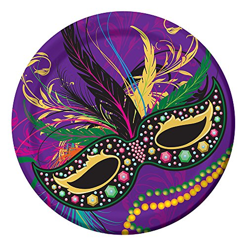 (Creative Converting 8 Count Sturdy Style Round Paper Plates, 8.75