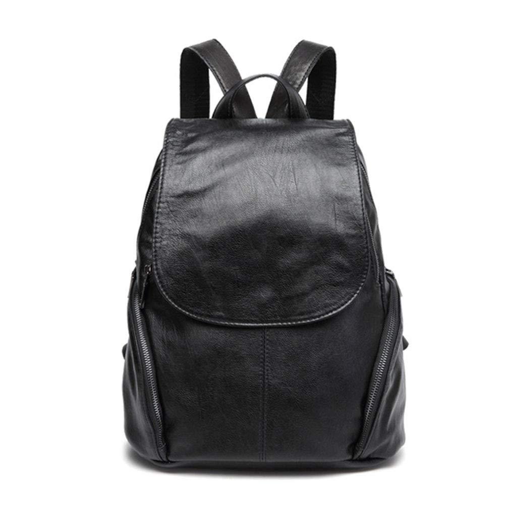 LSLWI Women's Backpack Antitheft Backpack Waterproof Leather Shoulder Bag Ms. Fashion Backpack
