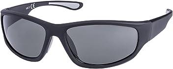 SIX Männer Sonnenbrille, Sportbrille in mattem Schwarz (437-233)