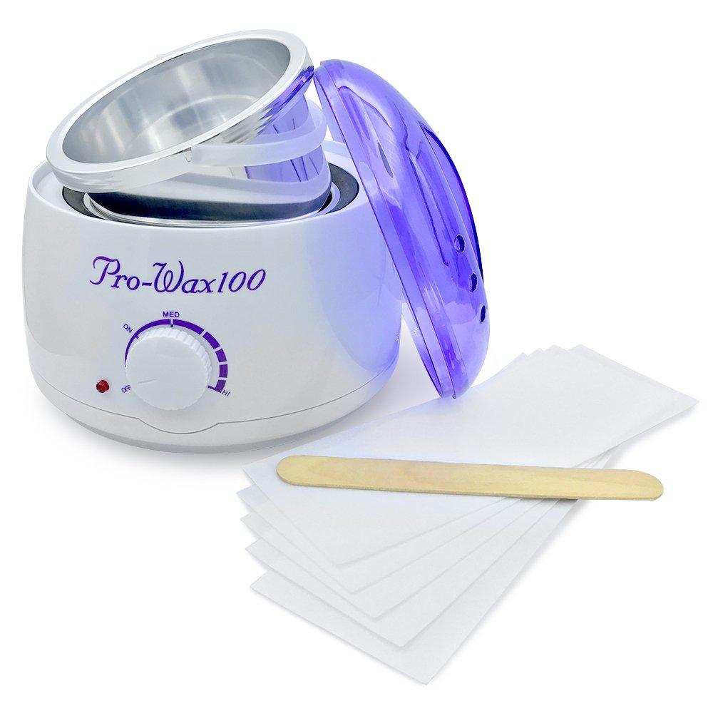Wax Heater, Betterhill Electric Wax Warmer Machine Hands Feet Hair Removal Melting Pot Facial Skin Wax Spa Waxing Kit For Professional Use 500ML