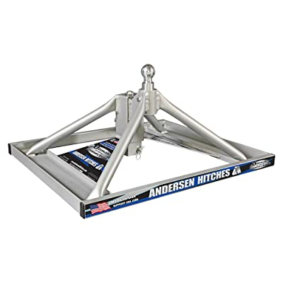 Andersen Hitches 3220 | Aluminum Ultimate 5th Wheel Connection 2 | Gooseneck Version | Weighs Only 35 lbs | ONE Person Install or Removal in Less Than 5 Minutes! | Smooth Ride - More Swivel |: Automotive