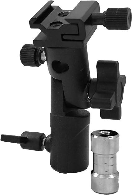 Wecellent Blitzneiger E Form Reflexschirmhalter Für 1x Kamera