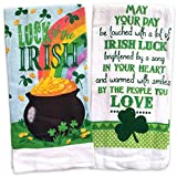 #6: St Patricks Day Kitchen Towels Irish