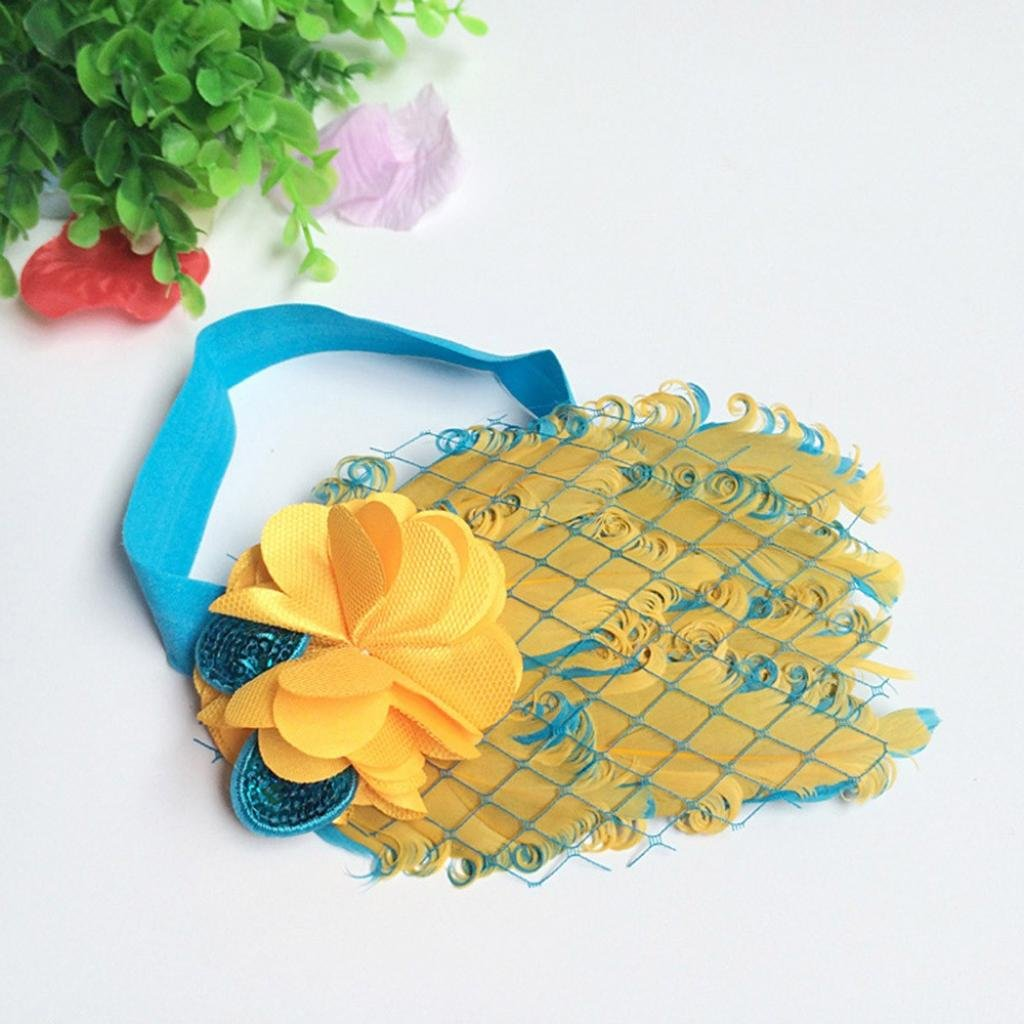 Amazon.com  Baby Feather Headband a74e784a7fe7