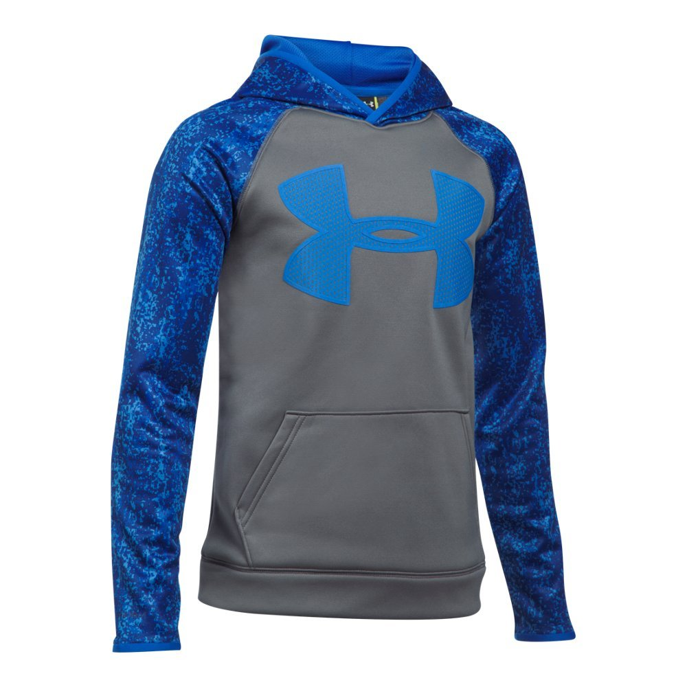 Under Armour UA Storm Armour Fleece Big Logo Printed Youth X-Small Graphite