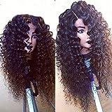 Eva Hair Malaysian Human Hair Curly Wigs 14