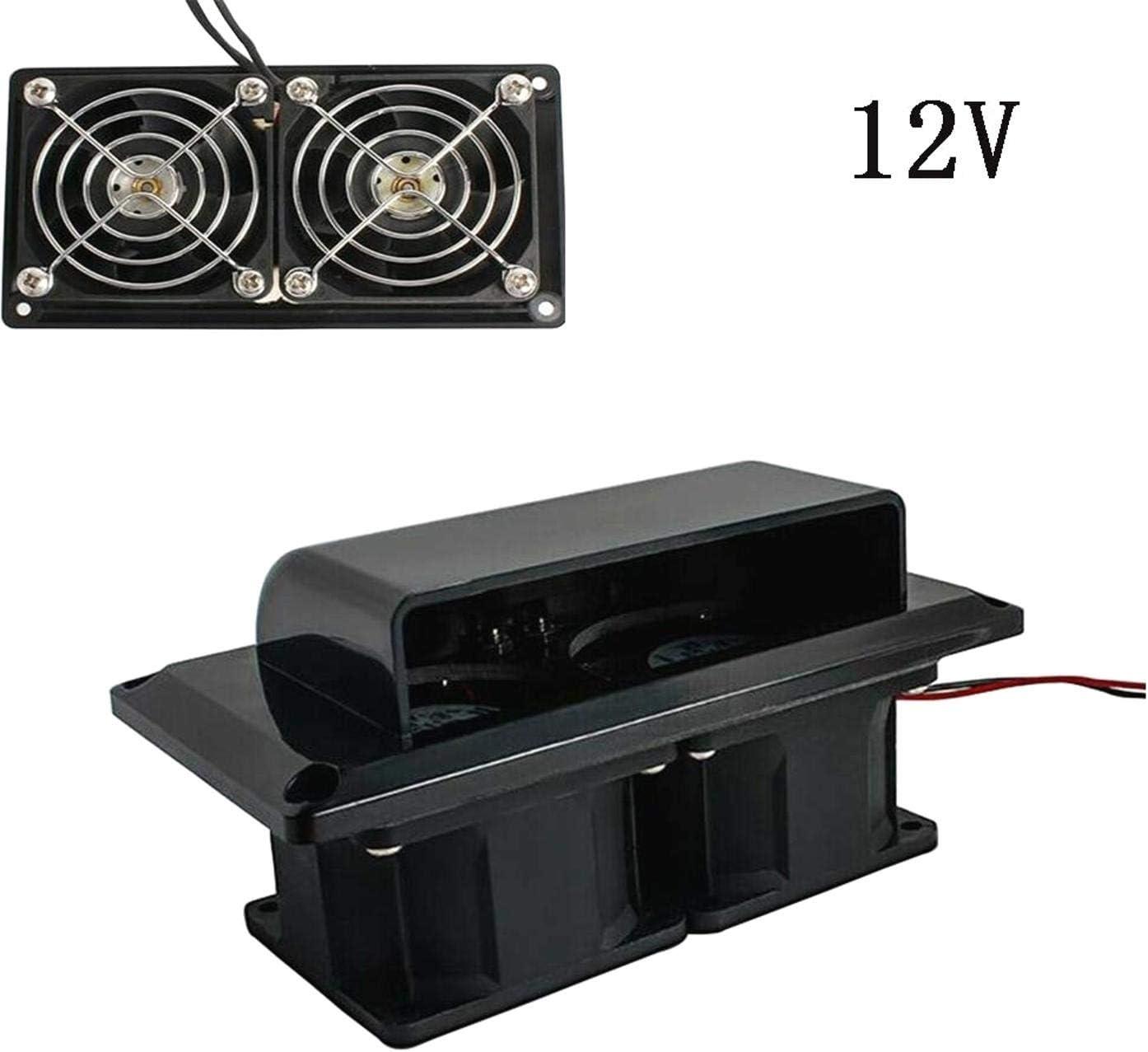 DULALA Ventilaci/ón de ventilaci/ón de Aire Lateral Ventilador de Aire de 25 W para Remolque de Caravana de Autocaravana RV