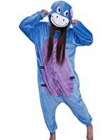 Très Chic Mailanda unisex con cappuccio pigiama da notte costume cosplay adulti costume di Halloween