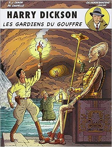 Livres gratuits en ligne Harry Dickson, Tome 9 : Les gardiens du gouffre epub pdf