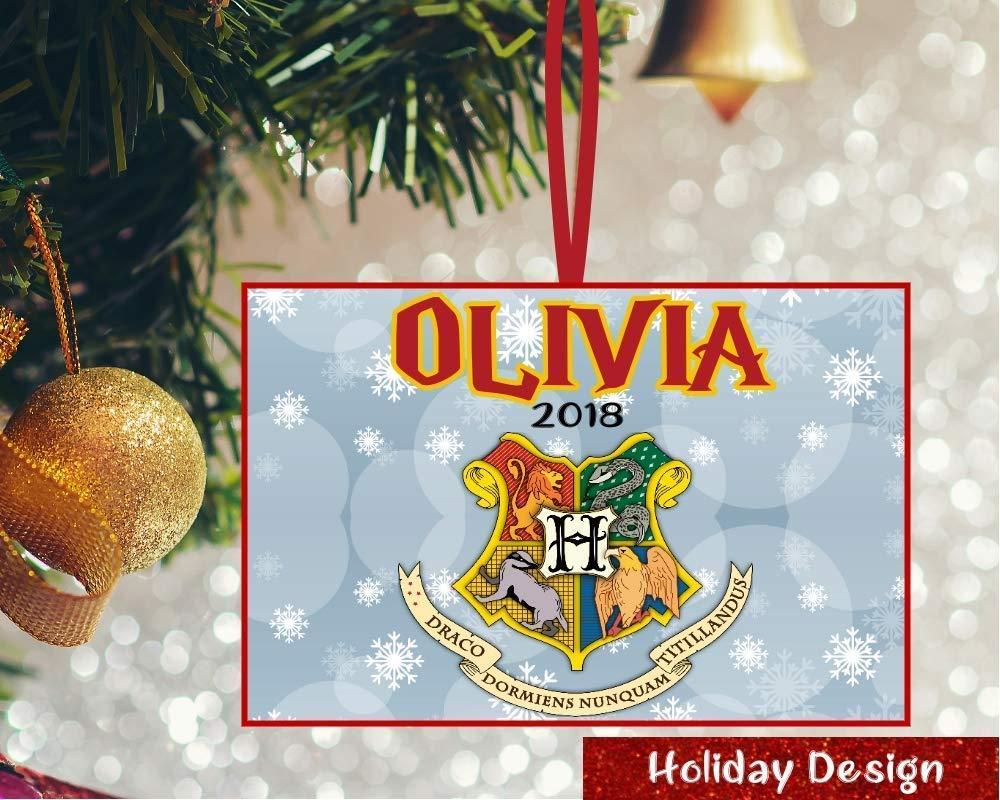 Amazon Com Personalized Harry Potter Ornament Harry Potter