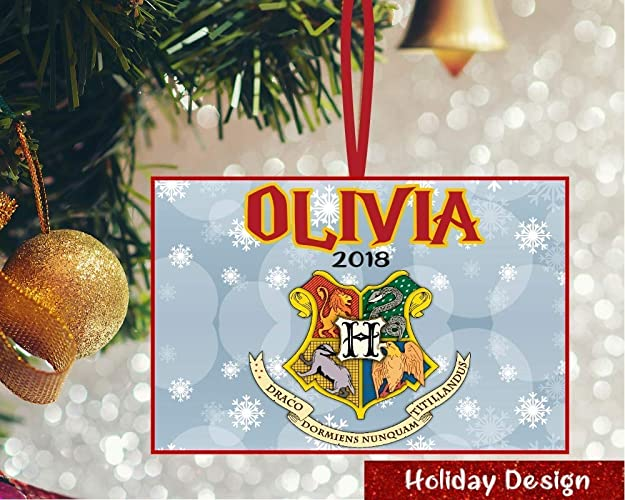 Amazon Com Personalized Harry Potter Ornament Harry Potter