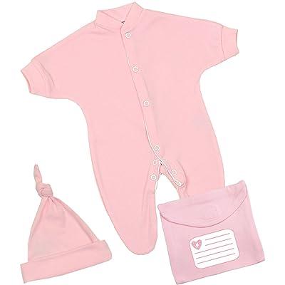 ff944b9ed BabyPrem Baby Keepsake Set Preemie Sleeper Hat Bag Clothes Cotton 0 ...