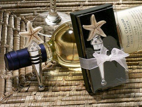 Starfish Design Wine Stopper - 1