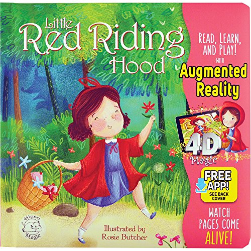 Little Red Riding Hood - Come-To-Life Board Book - Little Hippo Books