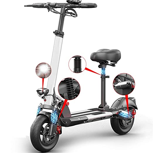 Patinete Eléctrico Scooter Plegable E-Scooter, Velocidad ...