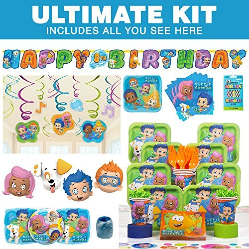 Bubble Guppies Ultimate Kit (Serves 8) by ANYTIME COSTUMES by Costume SuperCenter by Costume Supercenter
