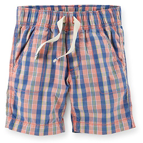 Carter's Baby Boys 2 Pack Pull-On Plaid Shorts Sizes 3-24 months Great Colors!