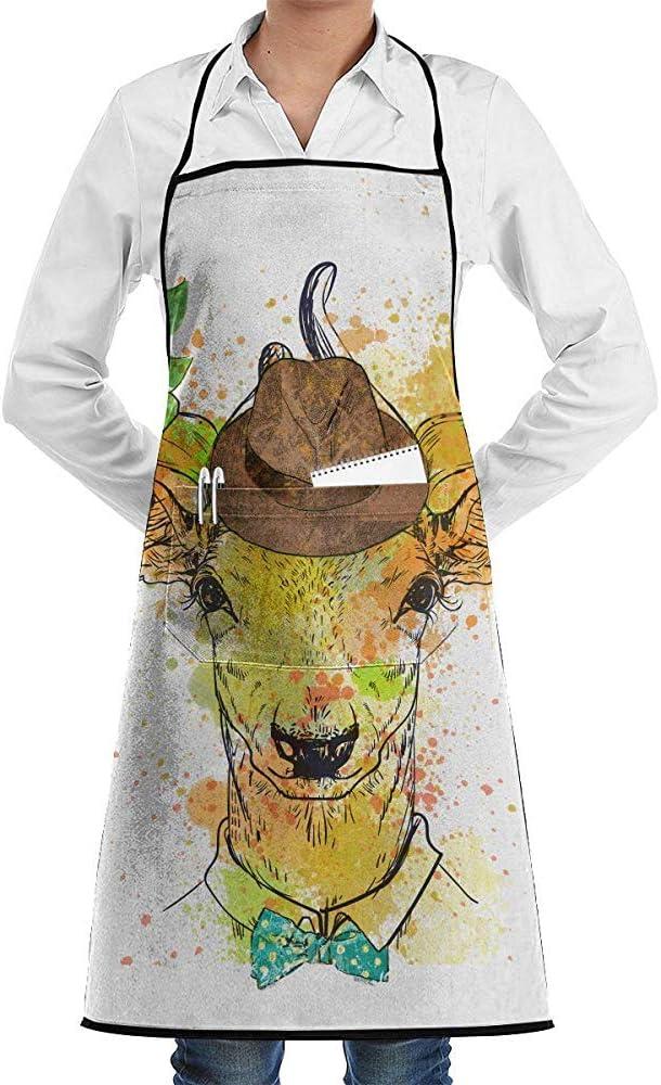 Not applicable Mr. Deer con un Sombrero de Flores con una Camisa ...